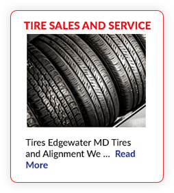 Tire Sales & Service Edgewater, MD
